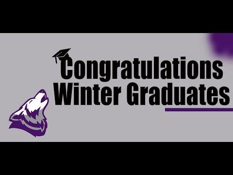 Vista Alternative High School Winter 2018 Graduation