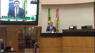 Deputados repercutem veto da governadora interina Daniela Reinehr
