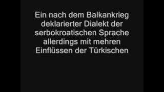 Vergleich der Bosnischen, Türkischen und Kurdischen Sprache !