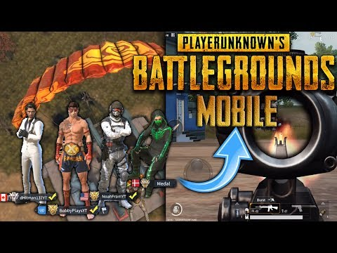RoS GRIND SQUAD TAKES ON PUBG MOBILE!!! PUBG Mobile Gameplay (iOS/Android)