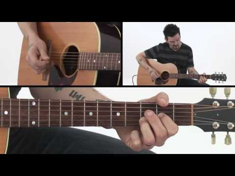 30 Rootsy Acoustic Rhythms - Shootin' Blues in D - Mike Zito Guitar Lesson