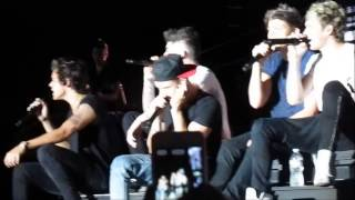 Download Lagu One direction- Last first kiss. Niall and Louis changing the lyrics mp3