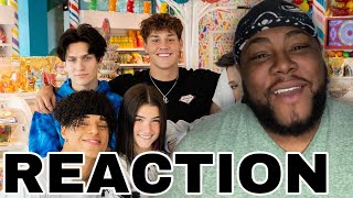 We Took Over A Candy Store For The Day | Charli D'Amelio REACTION