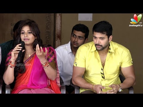 Actress Anjali Answers for all Controversy Against Her | Jeyam Ravi New Movie Press Meet