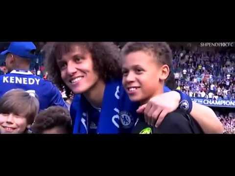 Chelsea celebration Champions Premier League trophy 2017
