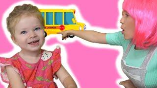 Wheels on the Bus song| 동요와 아이 노래 | 어린이 교육.Nursery Rhymes & Kids Songs by Sasha Kids Channel