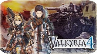 "Valkyria Chronicles 4 [PS4] Gameplay Español ""Operación Cruz del Norte"""