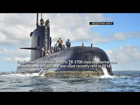 Explosion Heard During Search for Argentina Sub