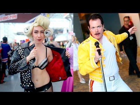Cosplay Remix: MUSIC ICONS - Daft Bunk, David Bowie, Lady Gaga, Deadmau5 & More!