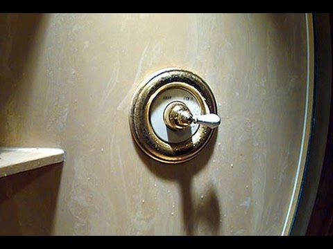 American Standard Shower Valve Water Hammer Fix Youtube