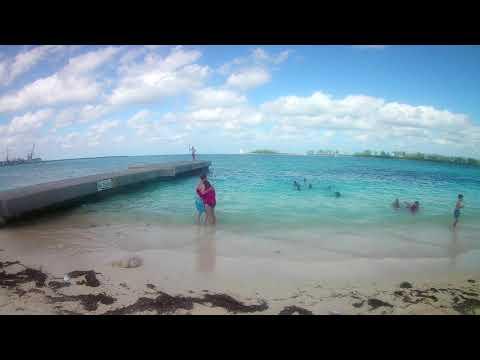 Western Esplande Beach Nassau Bahamas aka Junkanoo Beach