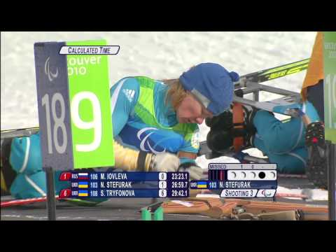 12.5km biathlon - Nordic skiing - Vancouver 2010 Winter Paralympics
