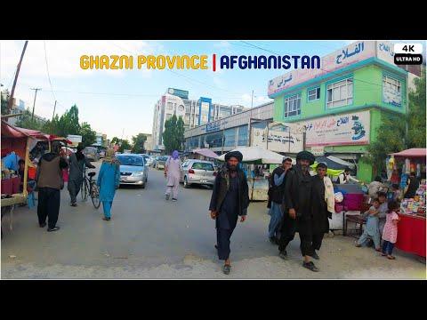Ghazni City | Afghanistan | The capital city of Islamic culture for Asia region | 4K