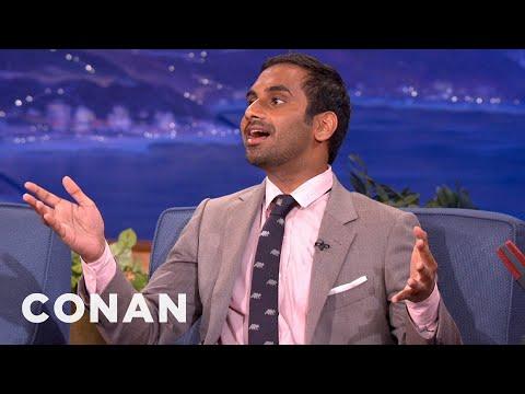 Aziz Ansari Is A Seal Karaoke Master - CONAN on TBS