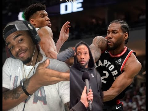 KAWHI SAYS WE'RE GOING BACK TO TORONTO FOR GAME 3… RAPTORS VS BUCKS GAME 2 NBA PLAYOFFS REACTION