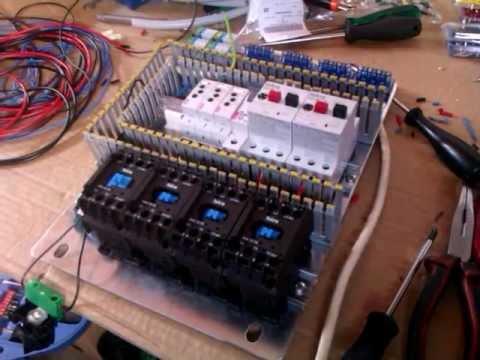 Test vezja za kontrolo motorjev