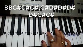 High Rated Gabru Haye ni Haye Nakhra tera ni Piano KeyboardTutorial Harmonium Guru Randhawa