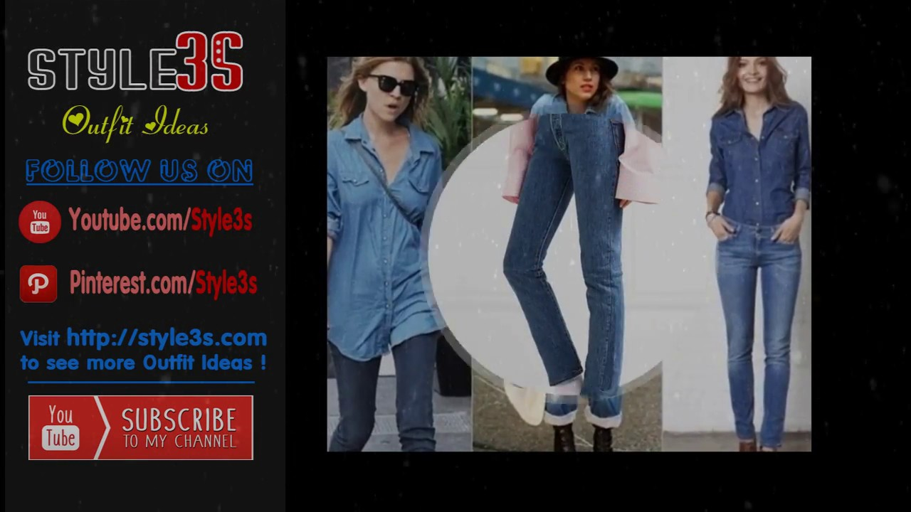 d6b46268c88 100+ Biggest Denim Trend for the Rest of the Year - Outfit Ideas ...