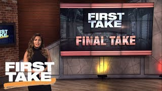 Molly Qerim: The Stick-To-Sports Era Is Officially Over | Final Take | First Take | ESPN