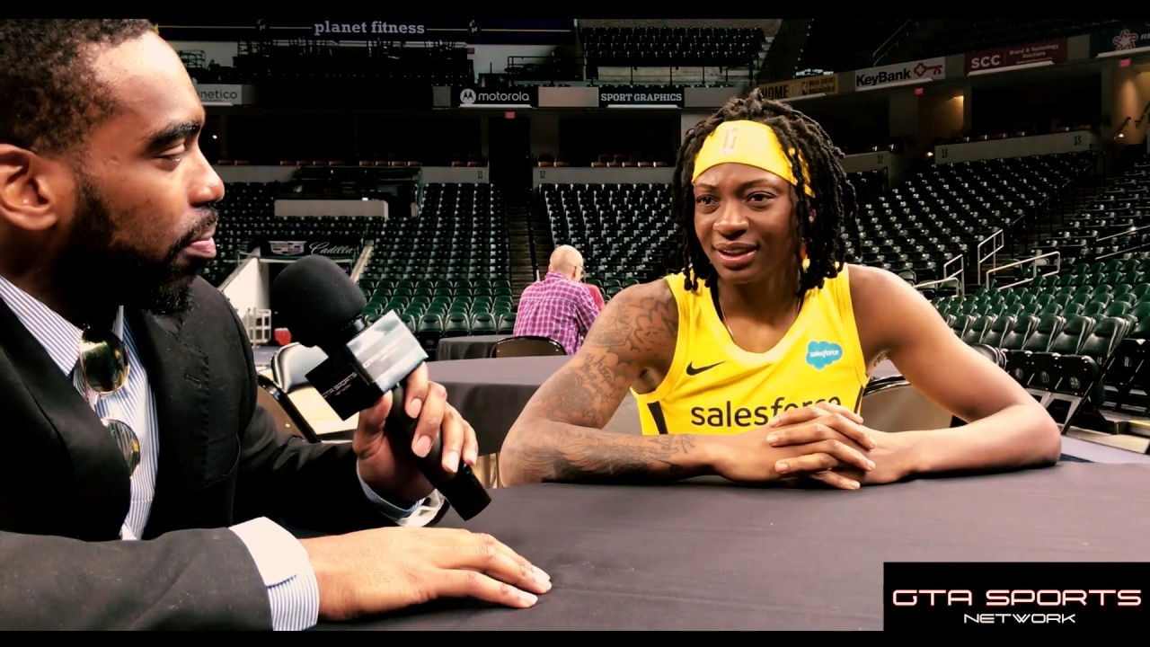 Erica Wheeler - Indiana Fever Media Day Interview - 2019