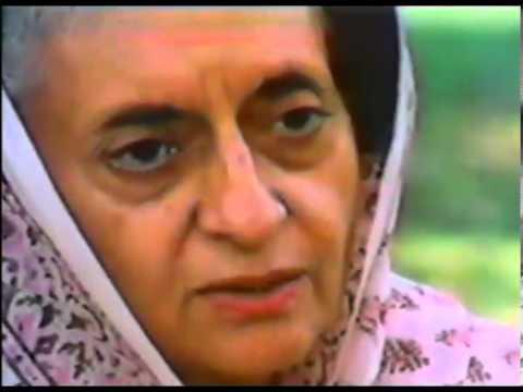 Indira Gandhi talking about Rajiv Gandhi and Rahul Gandhi   Rare Footage
