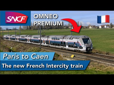 The new face of SNCF Intercity trains - OMNEO PREMIUM REVIEW