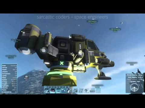 Sarcastic Coders play Space Engineers S01E08