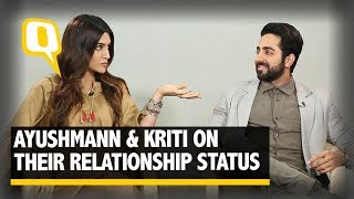 Single Vs Married: Kriti and Ayushmann Fight it Out - The Quint