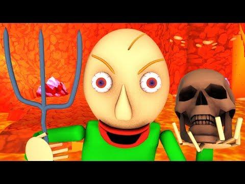 Ад Балди (Baldi's Basics 3D анимация)