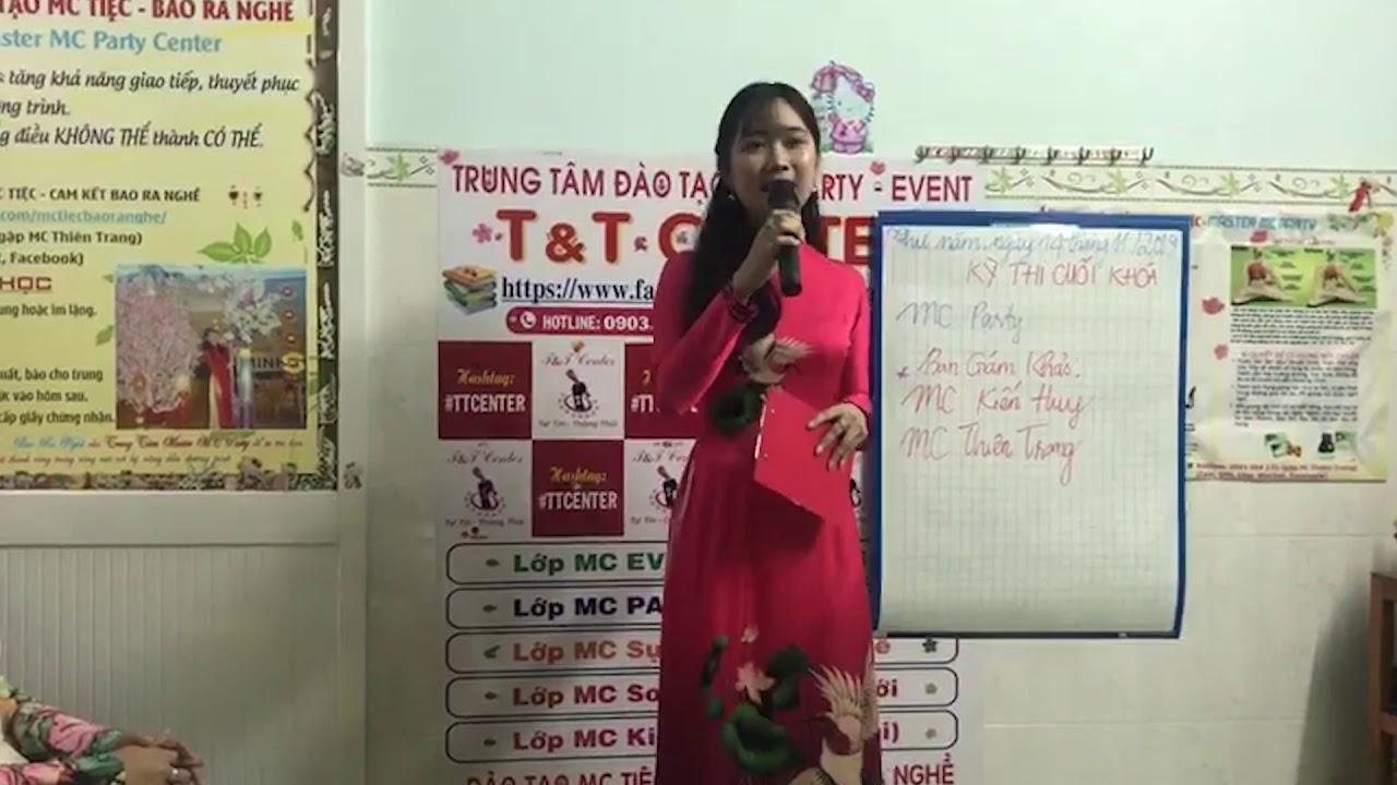 MC Thanh Lam - Tự tin MC Party và Sự kiện