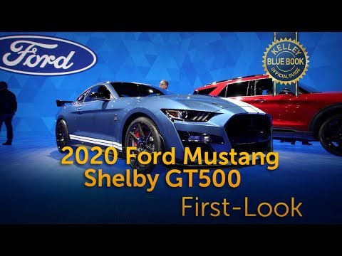 2020 Ford Mustang Shelby GT500 – First Look