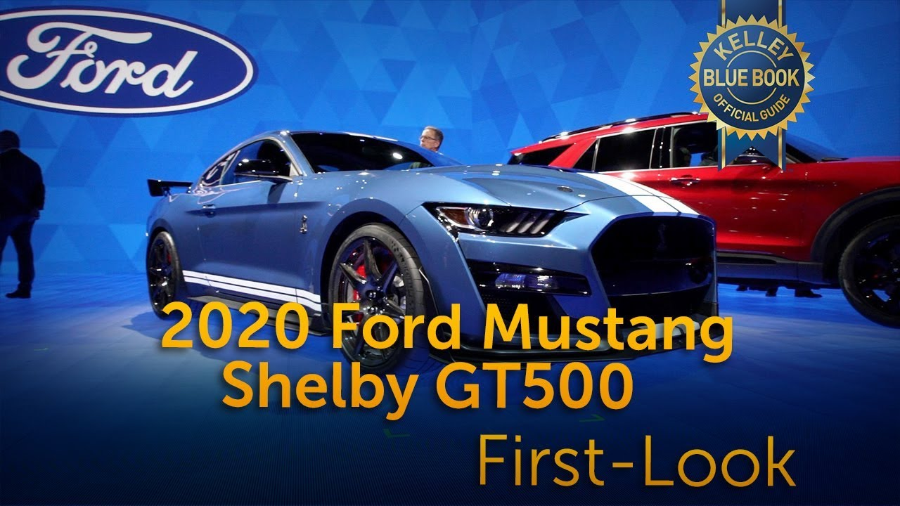 2020 ford mustang shelby gt500 first look