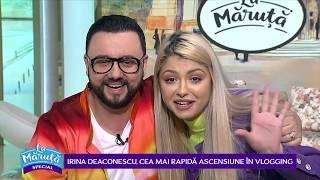 Irina Deaconescu, cea mai rapida ascensiune in vlogging