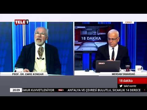 18 Dakika - (21 Kasım 2018) Merdan Yanardağ & Prof. Dr. Emre Kongar   Tele1 TV