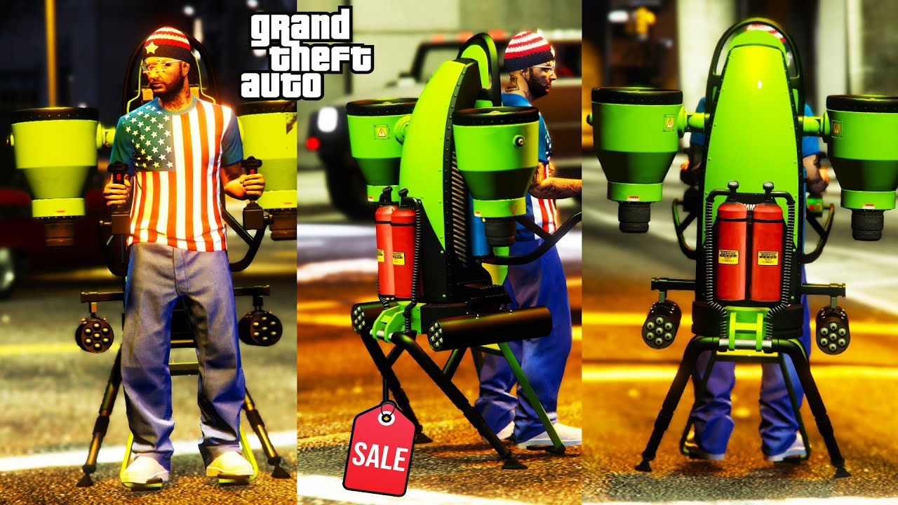 Thruster Review & Best Customization SALE NOW! GTA 5 Online  Jetpack WORTH BUYING ? NEW!