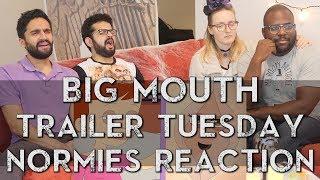 Big Mouth - Netflix Series - Trailer Reaction