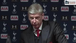 Wenger: Spurs fully deserved victory