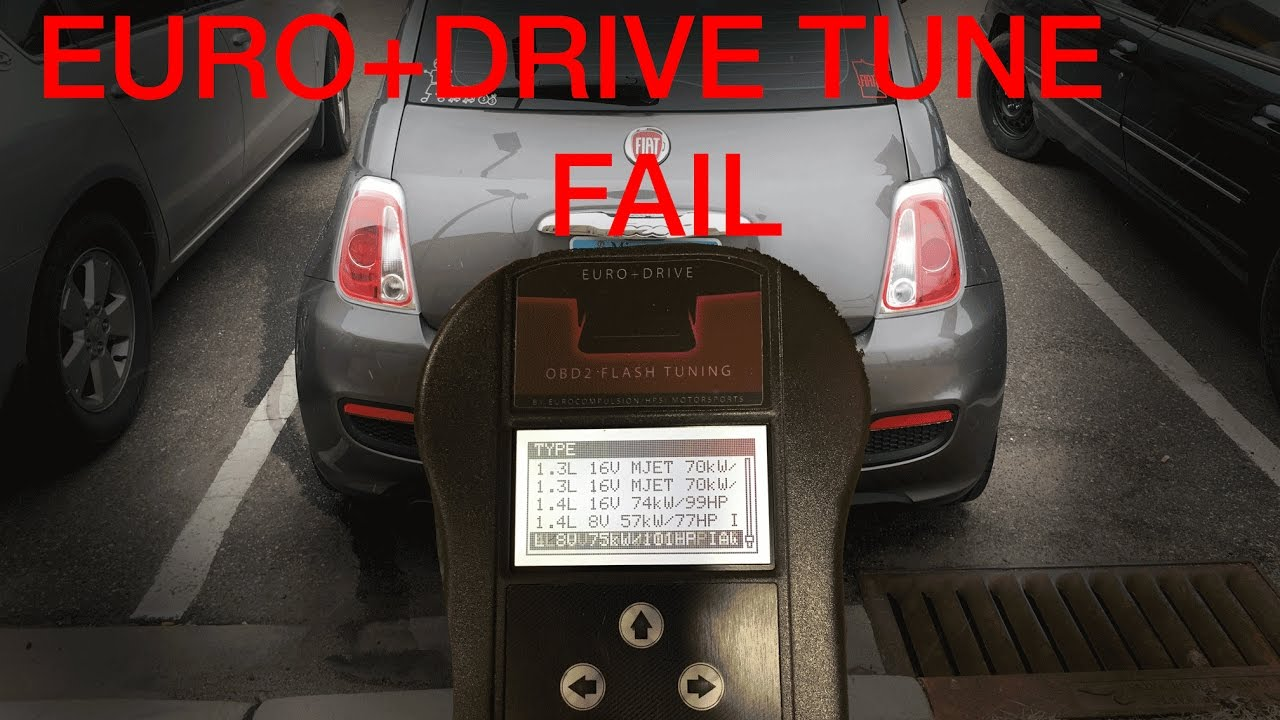 Fiat 500 non turbo 1 4 multi-air ECU Flash Tune PART 2