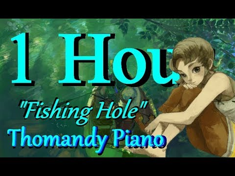 Twilight Princess - Fishing Hole - 1 Hour Extended (Thomandy Piano Cover)