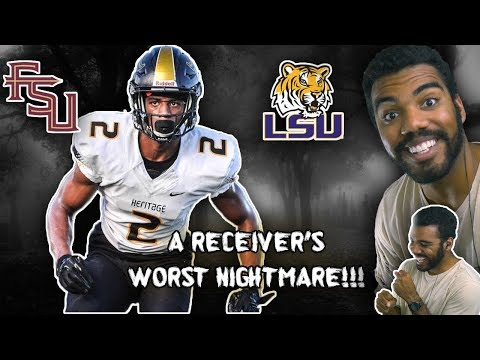 #1 Corner In The Nation Is A WR's Nightmare!!!- Patrick Surtain Jr Highlights [Reaction]