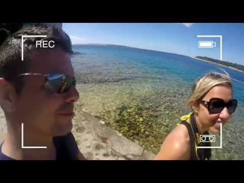 Rab island- Croatia Holiday Trip 2016 HD - GOPRO Hero 4