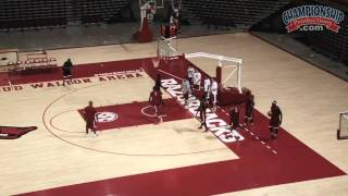 All Access Arkansas Basketball Practice with Mike Anderson  - Clip 1