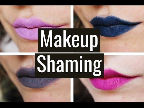 Makeup Shaming | Velvet and Vibranium