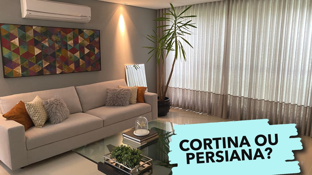 CASA NOVA COM CORTINAS DE LINHO ( SALAS E QUARTO)  | OSF - Rafa Oliveira