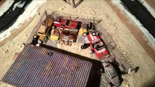 Aufbau building racetrack carrera go tutorial  Nevada Project documentary diorama History
