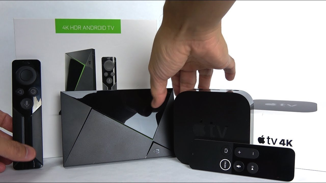 Why the Apple TV 4k Destroys the NVIDIA Shield TV (   or does it?)