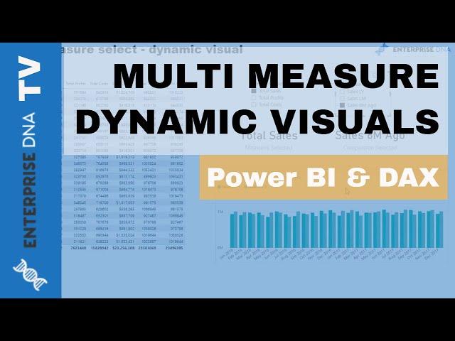 Multi Measure Dynamic Visuals - Data Viz Technique In Power BI