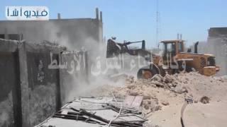بالفيديو. محافظة الاسكندرية تواصل حملات إزالة التعديات على أراضي أملاك