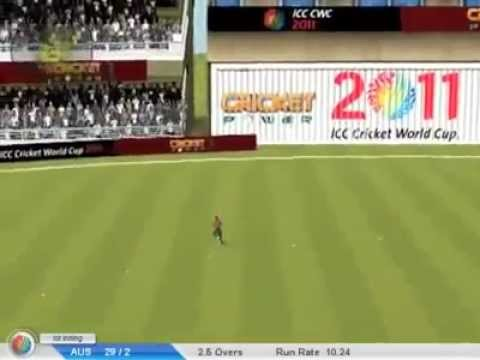 ICC Cricket World Cup 2011  The  Video Game Game Play Video.mp4