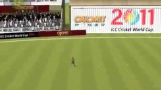 ICC Cricket World Cup 2011 - The Official Video Game- Game Play Video.mp4
